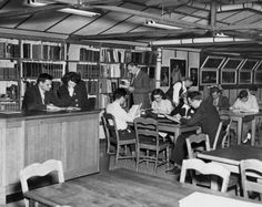 Old Campus - Library, Endicott, NY Binghamton University Libraries c.1947-1948