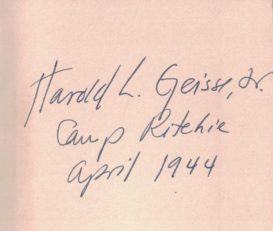 Geisse inscription