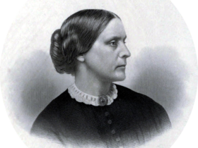 Susan B Anthony, c. 1855