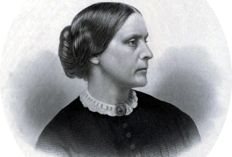 Susan B Anthony, c. 1855