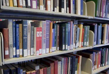 Image of books on shelves