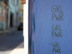 Girl Power graffiti