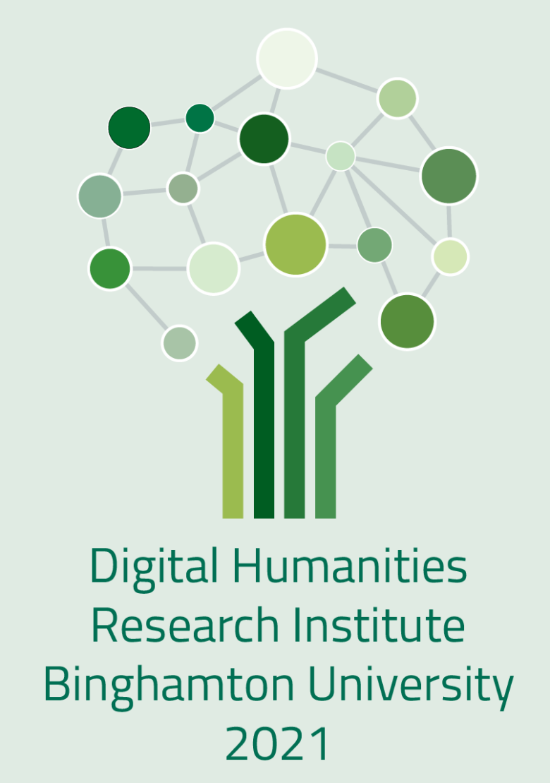 Logo of Digital Humanities Research Institute Binghamton University 2021